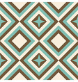 Fashion geometrical pattern in retro colors vector image