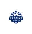 football club emblem game championship vector image