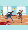 office business athletics background vector image