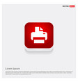 office printer icon vector image