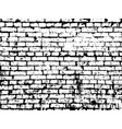 brick texture background brick effect vector image