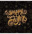 Easter Glitter Design vector image vector image