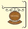 Hotel3 vector image vector image