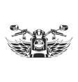 sketch moto vector image vector image