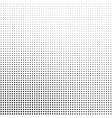 abstract halftone background in black and white vector image vector image