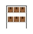box in storage icon image vector image