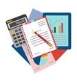 Concepts for business analysis consulting and vector image vector image