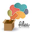 Creative Idea design vector image