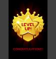 level up reward cartoon gold icon game app ui