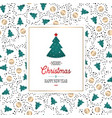 seamless retro gold texture christmas patterns vector image vector image