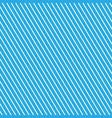 slanting strips on blue background vector image vector image