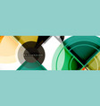 abstract background - multicolored circles trendy vector image vector image