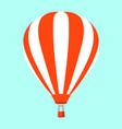balloon flat style vector image