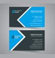 business cards design set vector image