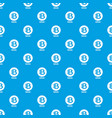bytecoin pattern seamless blue vector image vector image