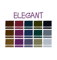 Elegant Color Tone vector image vector image