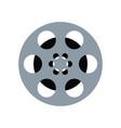 film frame film roll symbol vector image vector image