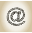 Mail a lip vector image vector image
