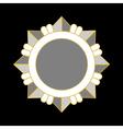 Medal award icon Silver star vector image vector image
