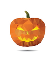 pumpkin of triangle vector image