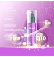 Realistic cosmetic tubes and bottles for yout vector image vector image