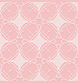 seamless lace pattern imitation hand crochet vector image vector image