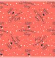 valentines pattern happy valentine day typography vector image vector image