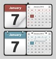 Calendar set vector | Price: 3 Credits (USD $3)