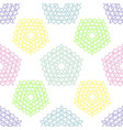 festive pastel colors seamless pattern vector image