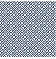 meander diagonal pattern - greek ornament backgrou vector image vector image