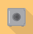 Safe flat icon vector image vector image