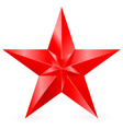 Shiny RED star 09 vector image