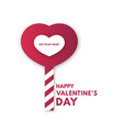 valentines or womens day for card loves key vector image vector image