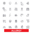 allergy food season desease sneeze pollen