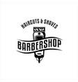 barber vintage logo