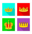 design of medieval and nobility symbol vector image