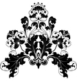 floral antique designs vector image vector image