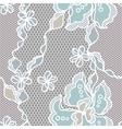 Lace fabric seamless pattern with abstact flowers vector | Price: 1 Credit (USD $1)