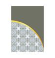 luxury premium menu designfinancial annual report vector image vector image