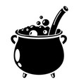 potion icon simple style vector image vector image