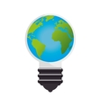 save the world planet ecology vector image vector image
