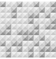 Seamless grey square tiles pattern vector image vector image