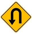 U-Turn Roadsign