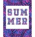 Vintage shirt Print vector image vector image