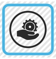 Development Service Icon In a Frame vector image vector image