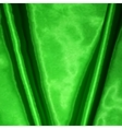 Green fabric texture for background vector image vector image
