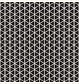 halftone pattern geometric seamless pattern with vector image vector image