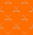 ice hockey sticks pattern seamless vector image vector image