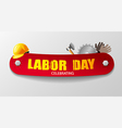 labour day banner vector image vector image