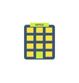 office icon vector image vector image